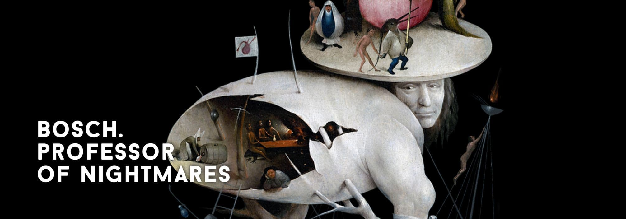 Hieronymus Bosch. Professor of nightmares
